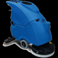 OEM rotomolded floor cleaning machine/ scrubber/customized rotomolding plastic cleaning machine