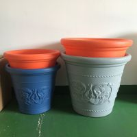 Rotomolded plastic garden pot/customized rotomolded plastic flower pot