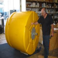 Rotomolded mooring buoys/navigation markers/plastic smaller floats