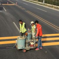 Self-Propelled Thermoplastic (Convex) Road Marking Machine
