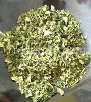 Japanese Organic Green tea leafs