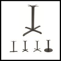 outdoor aluminum metal steel iron dining restaurant cast table bases