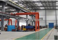 Lift Equipment Travelling Semi Workshop Gantry Crane for sale