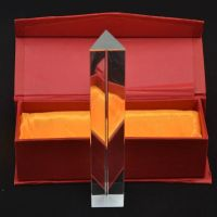 Crystal Glass Prisms Clear prism Optical glass prisms