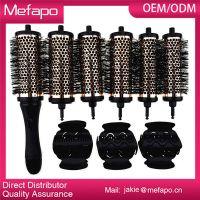 Professional detachable head hair brush set / hair brush manufacturing