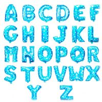 Wholesale China factory price helium foil alphabet letter balloons for party