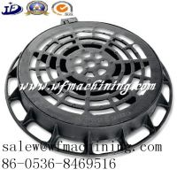 Custom/OEM Cast Iron Round Manhole Cover for Patio Drainage