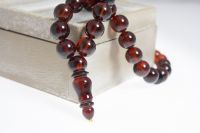 Genuine Baltic Amber Muslim Islamic Rosary Misbaha