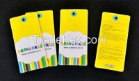 Color Card Price Tag Product Paper Hangtag