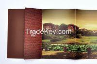 Advertising Booklet Catalog Brochure Folded Leaflet