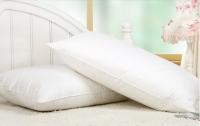 White Standard Size Down Pillow