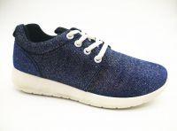 High Quality Fashion Lady Sports Shoes with PVC Outsole (ET-JRX160109W)