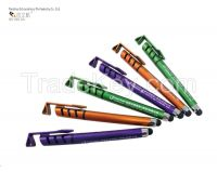 Multi-functional customized promotional gel pen with stylus
