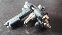One Body Aluminum Double Nozzle Spray Gun Pistola