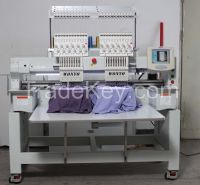 2 Head Computerized Embroidery Machine