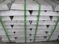 High pure zinc ingot 99.99% 99.995% manufacturers price