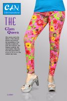 high quality made printed leggings  for women ladies and girls
