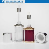Empty dropper bottle for essential oil