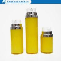 custom plastic round airless bottle