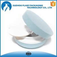 plastic empty compact powder case