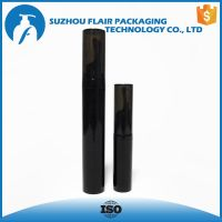 Plastic cosmetic vacuum bottle