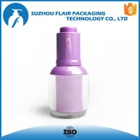 Plastic empty dropper bottle