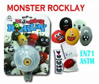Monster Rocklay (Playdough/Putty)