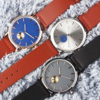 Lowest price PU leather strap alloy watch