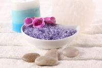 Bath Salt, Natural, Bath, Exfoliation, Beauty and relax