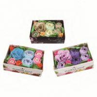 bath confetti, bah flower, bath paper, Soap Confetti, rose