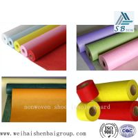 Flower packaging nonwoven fabric