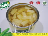 Sweet Canned Pineapple with Syrup From Indonesia