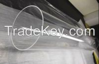 high purity clear quartz glass tube 3mm-450mm