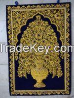 Wall Hanging Jewel Carpets with semi precious stones