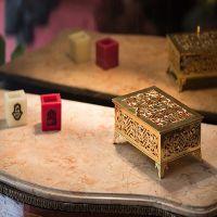 Gold JewelryBox (Extra copper rectangular box)