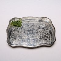 Welcoming Tray (Nickel plated copper tray)