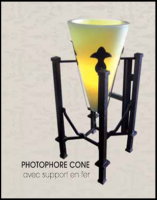 CONICAL PHOTOPHORE
