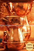 Copper Cookware - Copper hammered cooker - Steamer copper