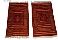Bedside Kilim (Origin: Tunisia) 100% Wool (Ref # 002300)