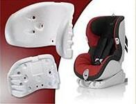 EPP for vehicle use child/baby safety seats