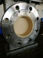 Ceramic lined gate valve