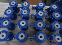 PFA lined ball valve