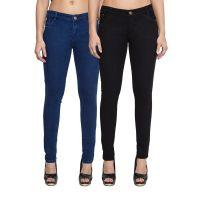 Kacey Denim Black Jeans