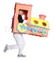Meitoku 2017 fresh promotion eva foam joint train for kids diy toys