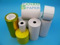 Supply Self-adhesive Barcode Sticker Label Paper Material Jumbo Rolls
