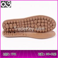Huasu Flexible non-slip high-quality TPR soles Casual sports Peas sole