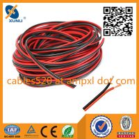 Read/Black Loud Speaker Cable for Car Audio System