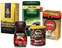Jacobs Coffee, Nescafe Classic, Quaker Oats, Dallmayr