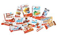 Kinder Joy, Kinder Bueno, Kinder Surprise, Kinder Chocolate