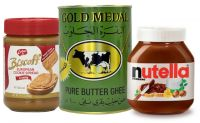 Nutella 350g, Gold Medal Pure Butter, Lotus Speculoos Spread